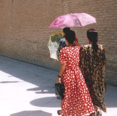 Ouzbékistant, pays des ombrelles